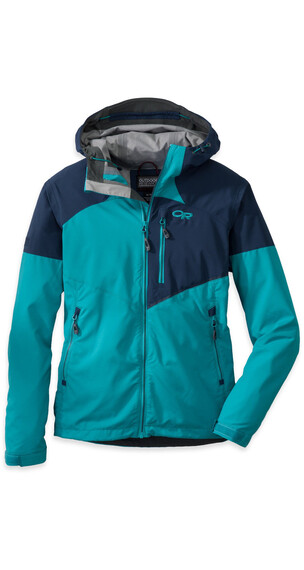 Outdoor Research W's Trailbreaker Jacket 44B-Alpine Lake / Night